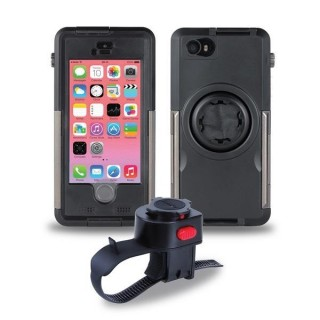 MountCase Bike Kit for iPhone 5c with ArmorGuard | Tigra Sport