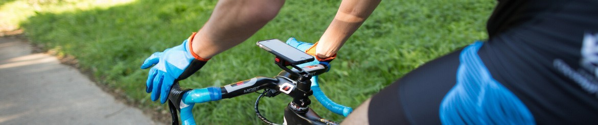 Bike Phone Mounts + Heavy-Duty Cases Fitclic | TIGRA SPORT