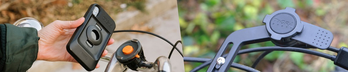 Heavy-Duty Bicycle Phone Mounts | TIGRA SPORT