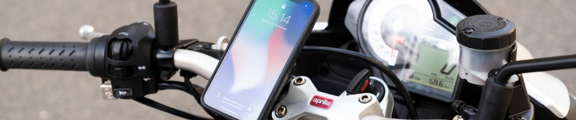 Motorcycle Phone Cases and Mounts | Fitclic NEO | TIGRA SPORT