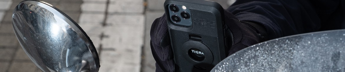 Scooter phone holder and protective covers | TIGRA SPORT
