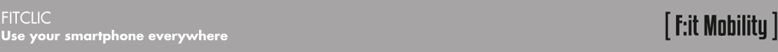 Tigra Sport bandeau gris fitclic